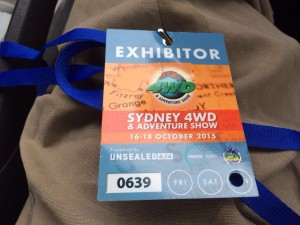 exhibitor card